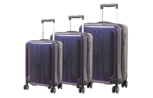 Hard Side 8 Wheel Luggage Set