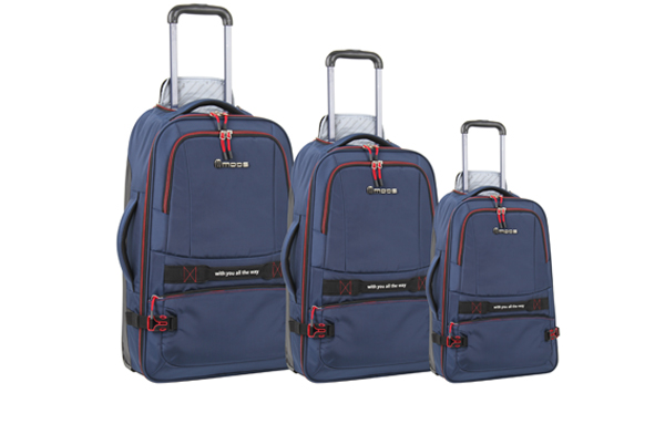 Casual Luggage Range 3 Piece Set