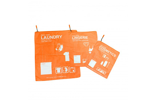 Packaging Pouch 3pcs Set