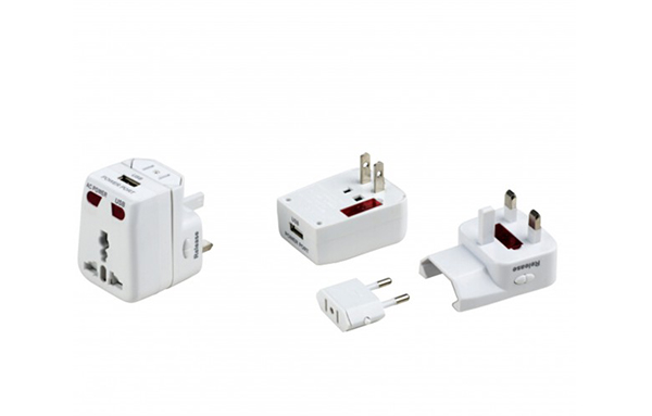 Travel Adaptor With USB Charger